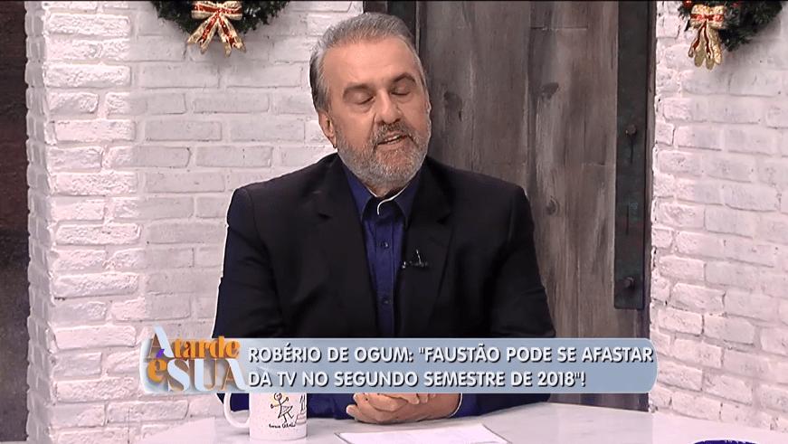 Vidente Robério de Om faz previsões para 2018 (Foto/reprodução Rede TV!)