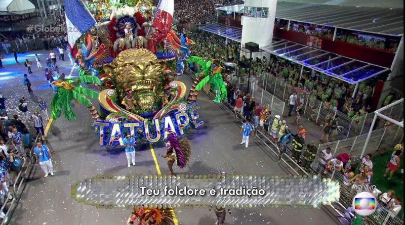 Acadêmicos do Tatuapé ganhou o Carnaval de São Paulo em 2018