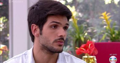 Lucas no Mais Você: eliminado do BBB 18 conversa com Ana Maria Braga