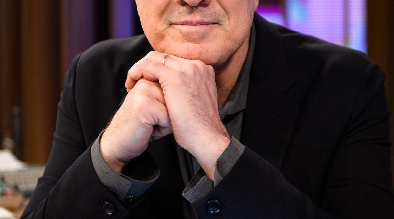 O apresentador Pedro Bial. Crédito: Globo/Ramón Vasconcelos