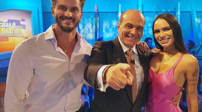 Marcos Harter e Gabriela Levinnt participam de 'O Céu é o Limite' (Crédito/Fotos: Divulgação/RedeTV!)
