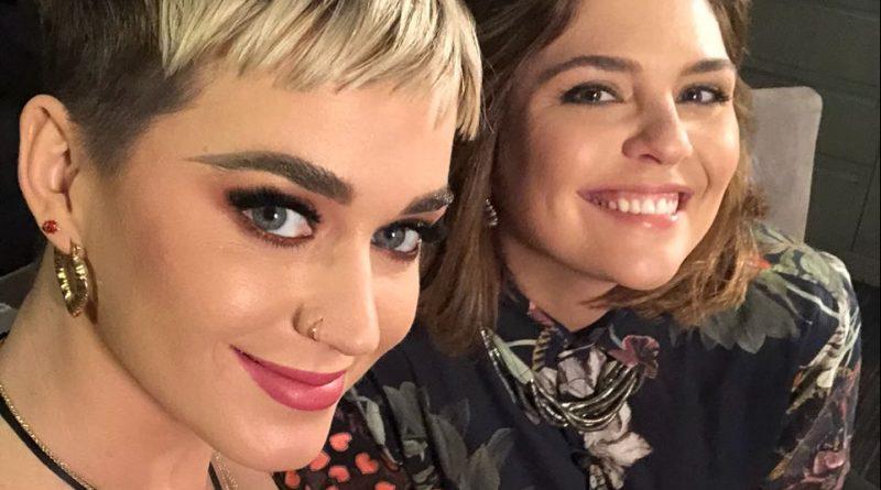 Katy Perry recebe a repórter Ana Carolina Raimundi para uma entrevista exclusiva em Los Angeles. Crédito: Globo/ Divulgação
