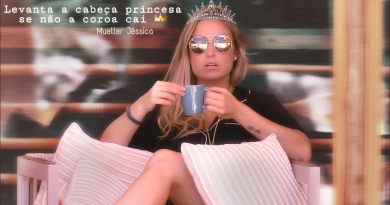 Frase de Jéssica do BBB18 vira meme: 'Levanta a cabeça, princesa, senão a coroa cai'