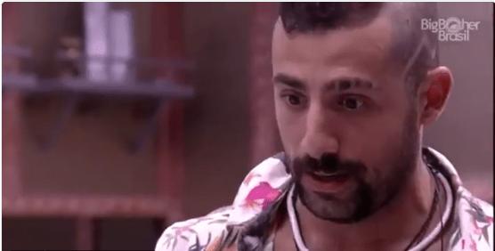 BBB 2018: Kaysar desabafa e diz que Patrícia o fez se sentir muito mal