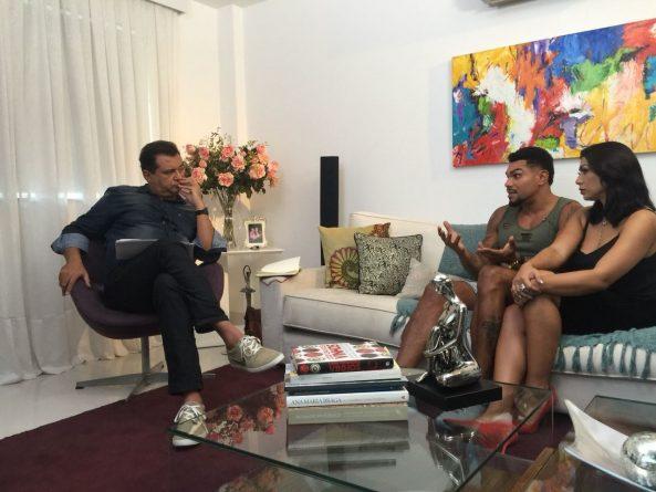 Em entrevista exclusiva a Geraldo Luís, Naldo e Ellen Cardoso quebram o silêncio, desabafam sobre agressões Crédito das imagens: Divulgação/Record TV