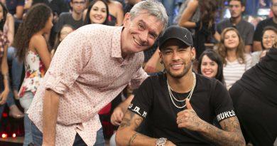 Serginho Groisman e Neymar Jr.