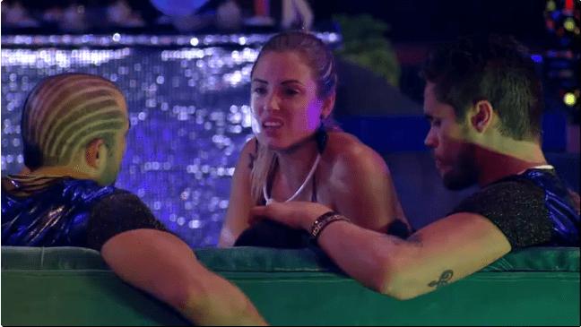 Jéssica pede a Kaysar do BBB 18: 'Não conversa com a Ana Clara'