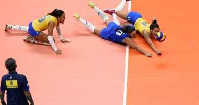Defesa do Brasil (Divulgação/FIVB)