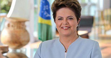 Presidenta Dilma Rousseff durante gravação no Palácio da Alvorada. Foto: Roberto Stuckert Filho/PR.