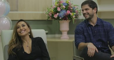 Sabrina Sato conta detalhes de sua gravidez e revela o sexo do bebê em entrevista EXCLUSIVA para Rodrigo Faro Crédito dos frames: DIVULGAÇÃO RECORD TV