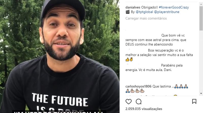 Por que Daniel Alves não foi convocado para a seleção brasileira? Entenda