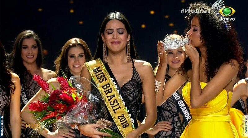 Miss Amazonas é a Miss Brasil 2018 (Foto: Reprodução)