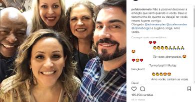 Padre Fábio de Melo grava Tamanho Família: 'Não é possível descrever a emoção'