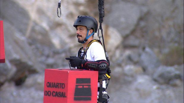 Prova dos Casais do Power Couple Brasil Crédito das imagens: Divulgação/Record TV
