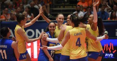 Brasil busca a nona vitória (Divulgação/FIVB)