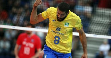 Wallace, maior pontuador do jogo (Divulgação/FIVB)