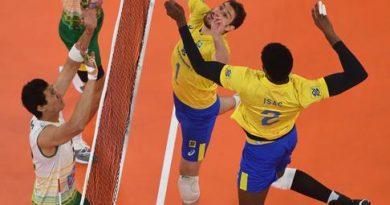 Bruninho com Isac (Divulgação/FIVB)