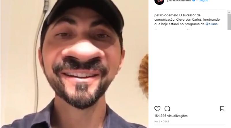Padre Fábio de Melo alfineta a Record TV em post no Instagram