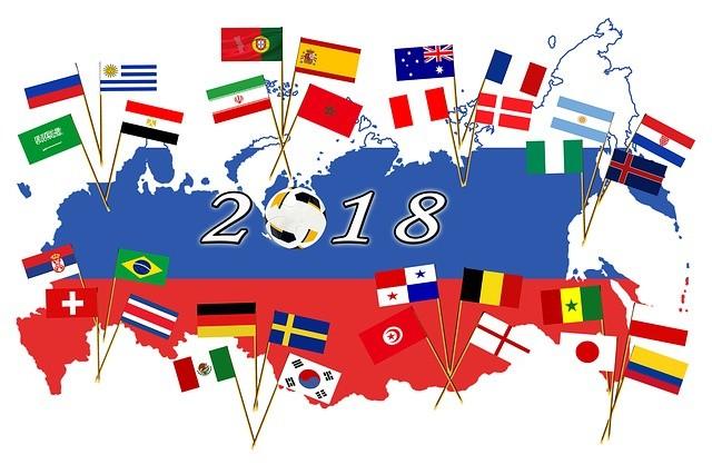 Jogos da Copa do Mundo 2018 amanhã, dia 18 de junho