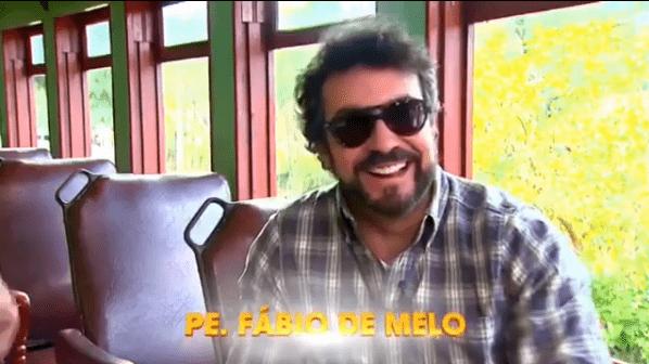 Padre Fábio de Melo no programa da Eliana
