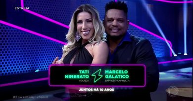 Tati Minerato e Marcelo venceram o Power Couple Brasil 2018