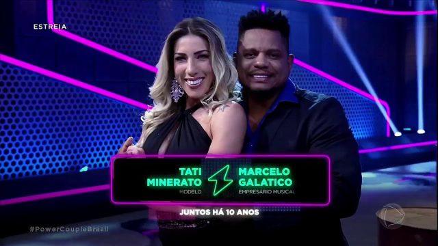 Tati Minerato e Marcelo venceram o Power Couple Brasil 2018