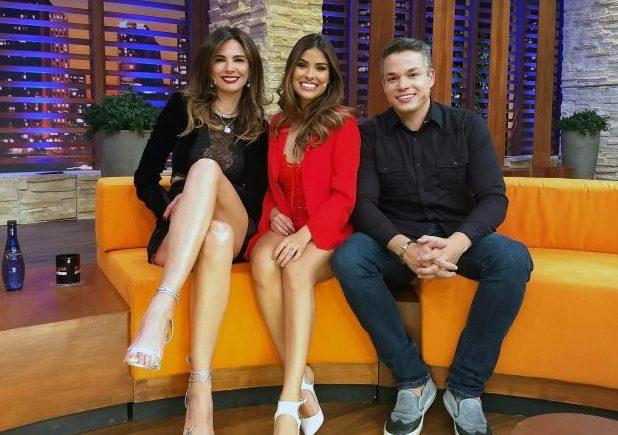 Munik Nunes e o marido Anderson Felício são os convidados de Luciana Gimenez nesta terça-feira em seu talk show na RedeTV!.