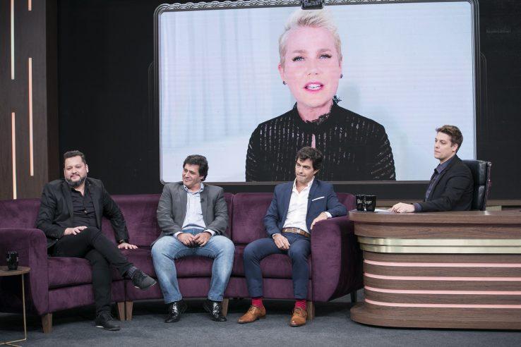Fábio Porchat entrevista três ex-Paquitos da Xuxa e mostra o antes e o depois dos galãs dos anos 1990