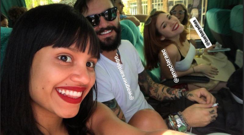 Gleici, Wagner e Ana Clara, do BBB 18, viajam juntos (Foto/reprodução Instagram)