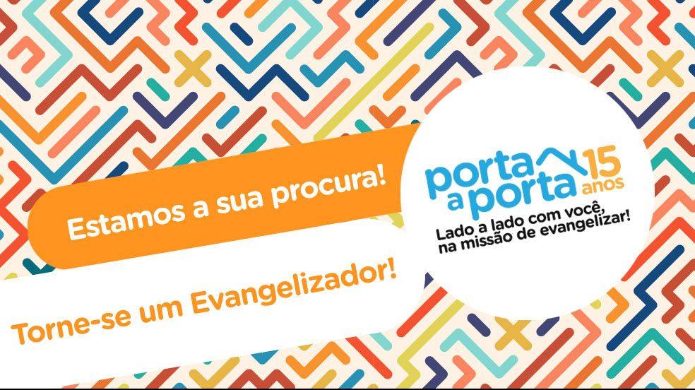 Canção Nova: veja como trabalhar de evangelizador porta a porta