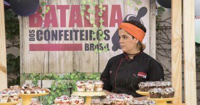 Batalha dos Confeiteiros: veja como será a semifinal hoje Crédito das imagens: Edu Moraes/Record TV