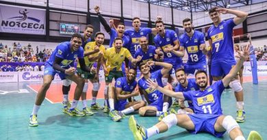 Jogadores do Brasil comemoram (Andrés Olvera A.)