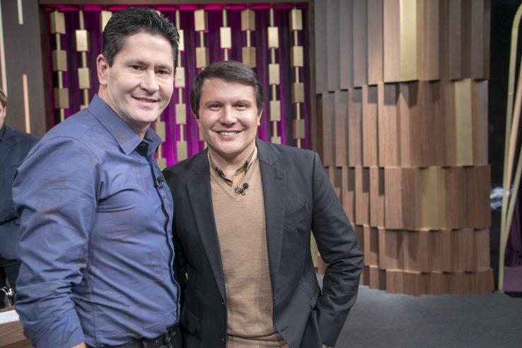 Gian & Giovani falam sobre retorno e explicam: 'Foi briga de irmãos' Crédito das imagens: Edu Moraes/Record TV