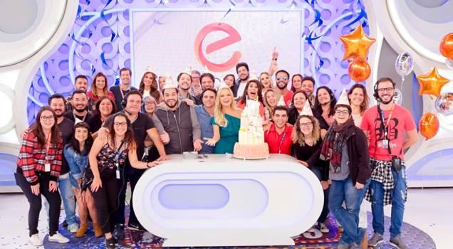Eliana comemora 9 anos de seu programa no SBT neste domingo (2) Crédito: Gabriel Cardoso/SBT