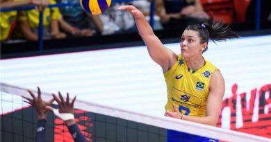 Rosamaria marcou 10 pontos (Divulgação/Montreux Volley Masters)