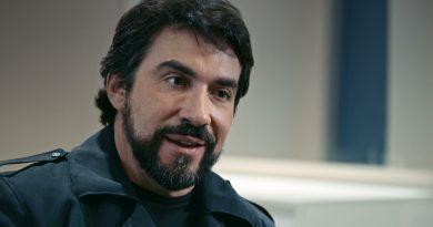 Padre Fábio de Mello participa do documentário. Crédito: Globo/Divulgação