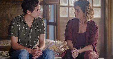 Luzia (Giovanna Antonelli) e Valentim (Danilo Mesquita) . Crédito - Globo/Paulo Belote