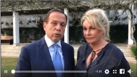 Doria nega que vídeo íntimo seja seu; assista