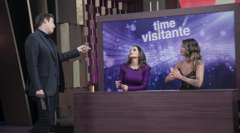 Programa do Porchat Crédito obrigatório: Edu Moraes/Record TV (Fran Grossi e Carla Prata)