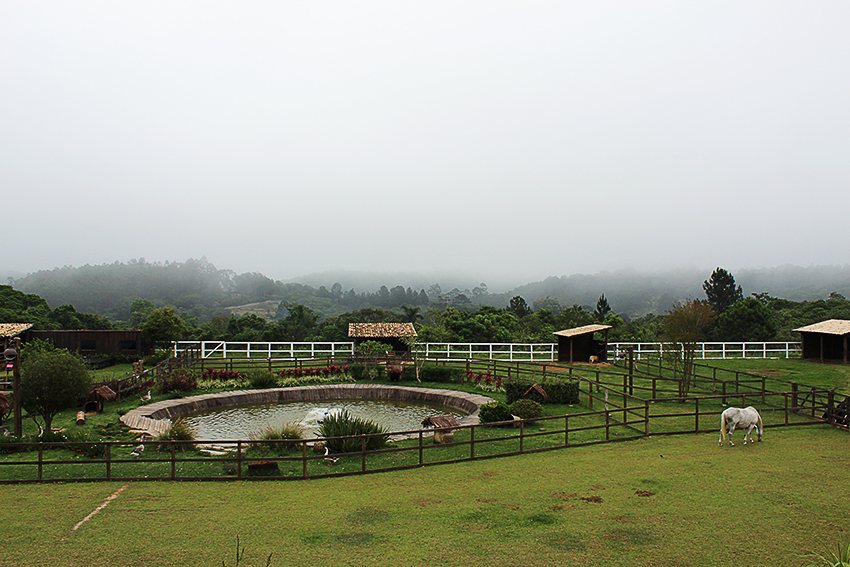 Vista panorâmica de A Fazenda