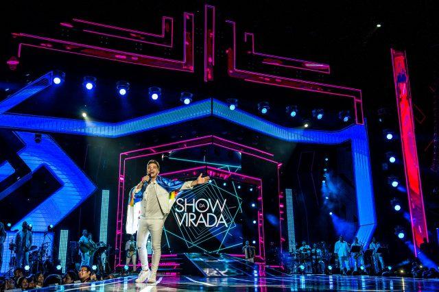 Show da Virada é gravado em Recife Créditos: Globo / Fábio Rocha