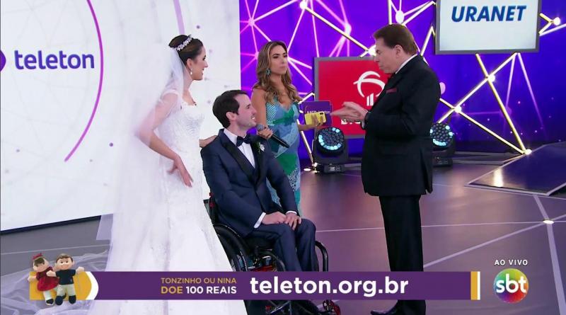 Teleton 2018 tem casamento ao vivo