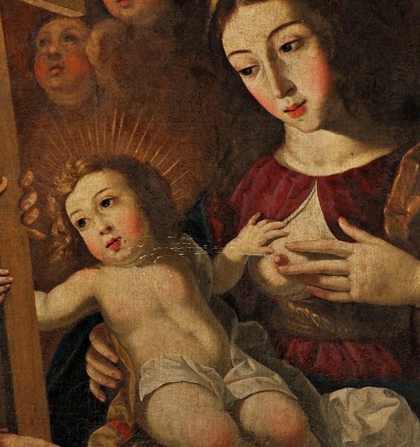 Imagem de Maria com o seio à mostra em presépio divide opiniões