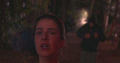 Luísa sai para correr e é seguida por um homem misterioso com um capuz