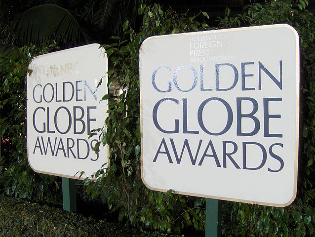 Golden Globe Awards. Por Peter Dutton from Forest Hills, Queens, USA - Golden Globe Awards, CC BY 2.0, https://commons.wikimedia.org/w/index.php?curid=5709910
