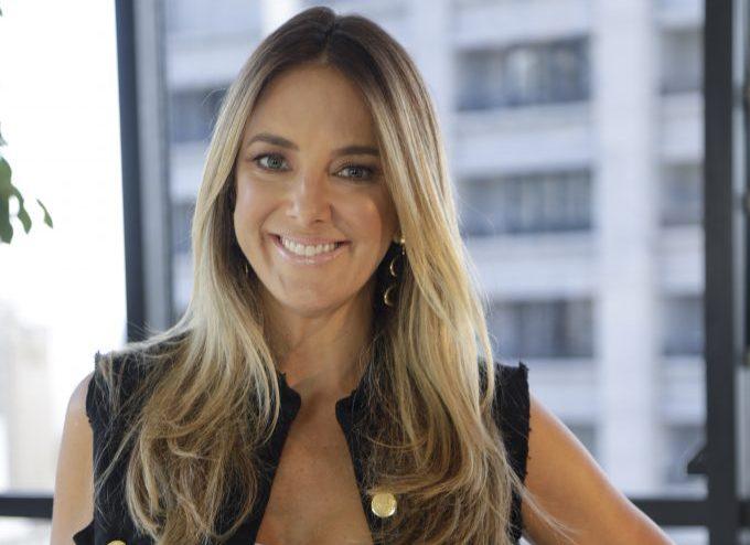 Fotos: Antonio Chahestian/Record TV (Ticiane Pinheiro durante as gravações do Troca de Esposas)