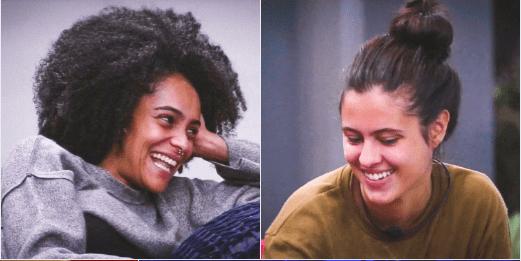 Hana, do BBB 2019, sobre Gabriela: 'Daqui a pouco vou estar de conchinha'