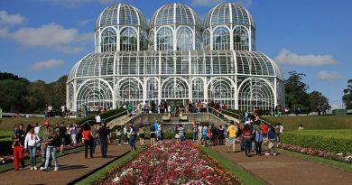 Jardim Botânico Fanchette Rischbieter em Curitiba