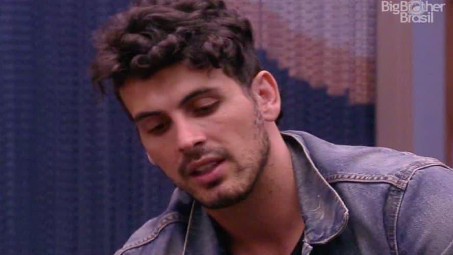 Maycon será indicado por Danrley e Elana para o paredão (Foto/reprodução TV Globo)