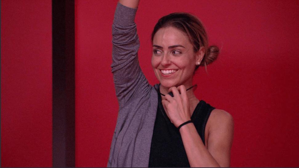 Paula ganhou a prova do líder da Coca-Cola